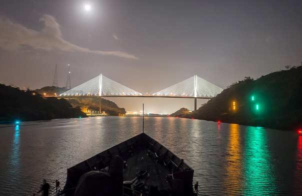 Canal de Panamá Puente Centenario