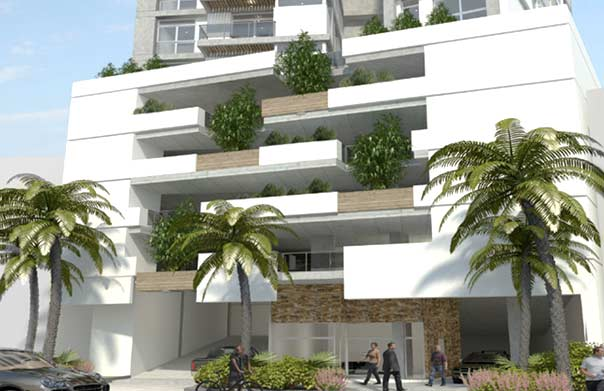 Preventa Cranc Tower Panamá Fachada