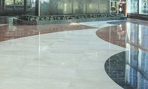 los pisos granito terracota o marmol