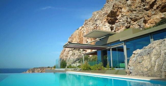 Vista Casa en Creta Grecia